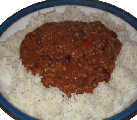 Image of Steve's Hot Chilli Con Carne