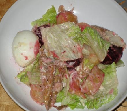 Image of Hot Smoked Mackerel Salad