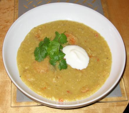 Image of Indian Spiced Lentil and Carrot Soup