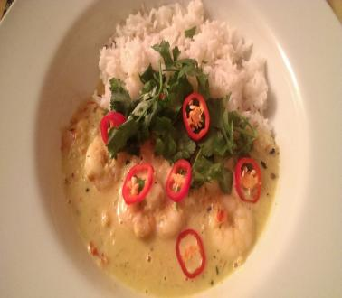 Image of Thai Red Prawn Curry