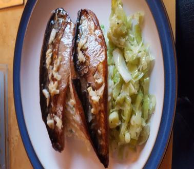 Image of Fresh Smoked Mackerel with Smokey Mash and Leeks