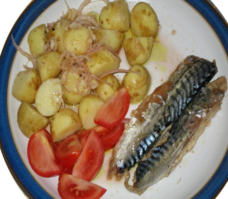 Image of Cold Mackerel Salad