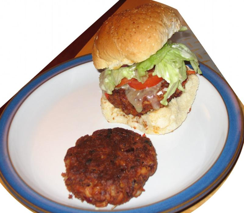 Image of Spicy Bean Burger