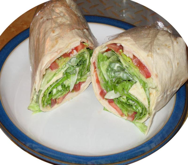 Image of Chicken Salad Wrap