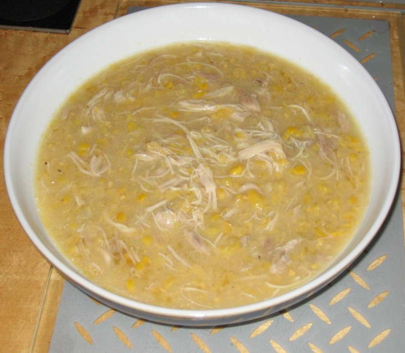 Image of Chinese Chicken and Sweetcorn Soup