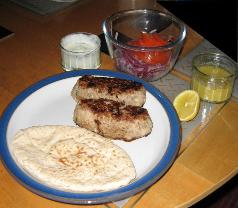 Image of Spicy Lamb Koftas